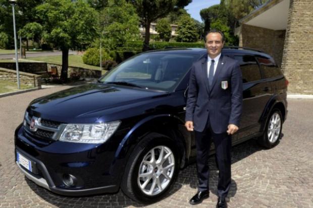 Fiat Głównym Sponsorem włoskiej reprezentacji piłkarskiej