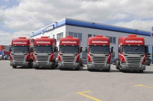 15 razy Scania R420 dla firmy Erontrans