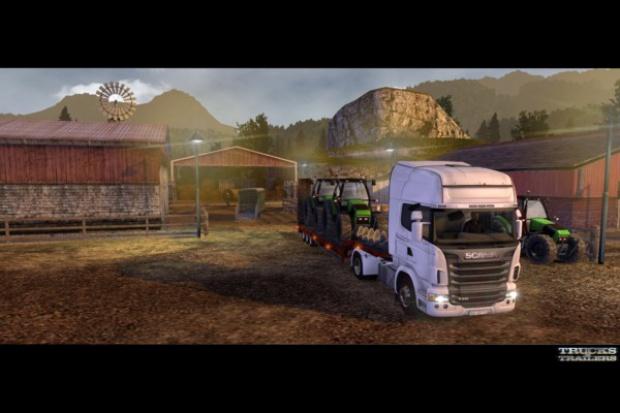 Scania i CD Projekt ruszają razem w trasę
