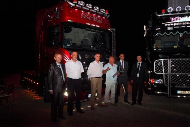 Najmocniejsza Scania V8 dla polskiej firmy