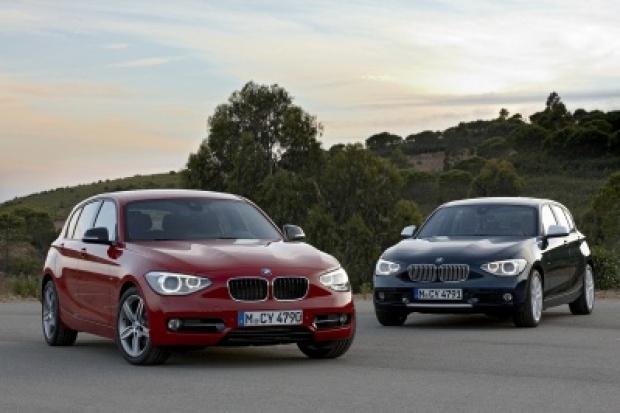 BMW serii 1 wchodzi do akcji