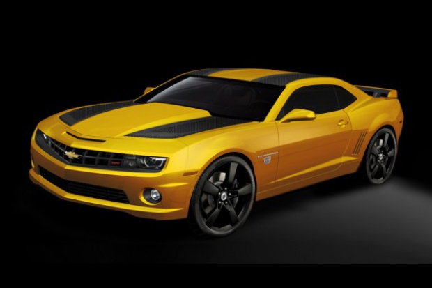 Jak Transformers to .... Chevrolet Camaro