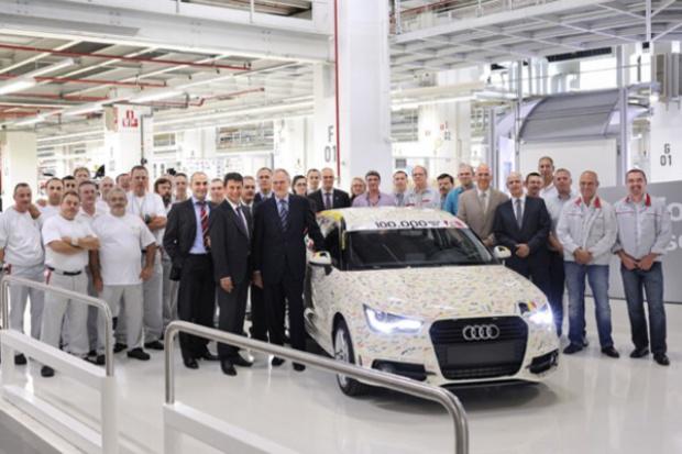 100 000 Audi z Brukseli