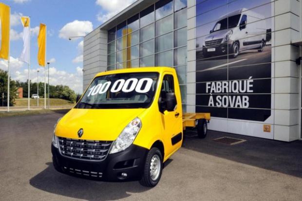 Jubileusz produkcyjny zakładów Renault SoVAB