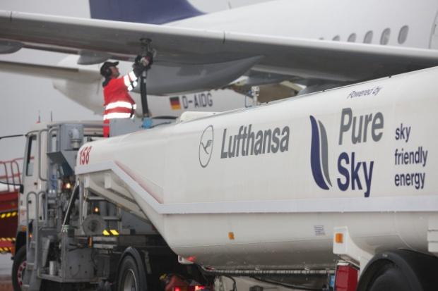 Lufthansa uruchamia loty rejsowe z wykorzystaniem biopaliw