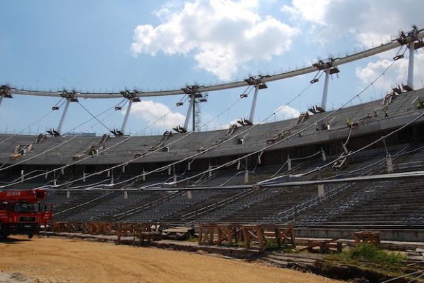 W poniedziałek wznowienie prac na Stadionie Śląskim