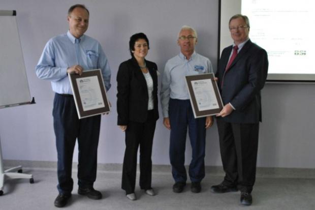Certyfikat zgodności z Systemem Zarządzania Energią dla gliwickiej fabryki Opla