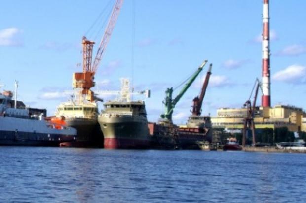 Wodowanie w stoczni Remontowa Shipbuilding S.A. w Gdańsku