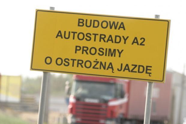 Prace przy A2 mają zapewnić jej przejezdność przed Euro 2012