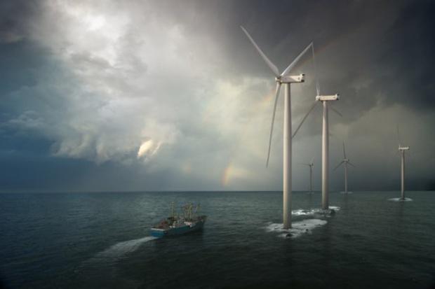 Amerykańskie miliardy na elektrownie wiatrowe w Niemczech