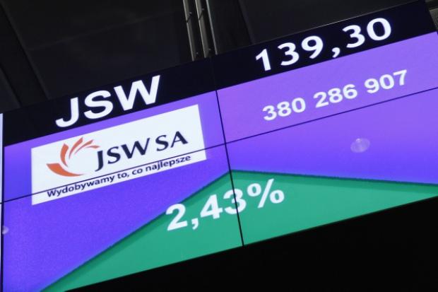 JSW trafi do WIG 20 zamiast CEZ