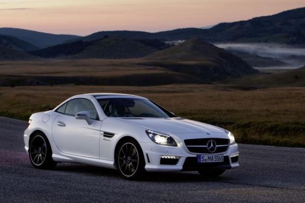 Najmocniejszy Mercedes-Benz SLK w historii
