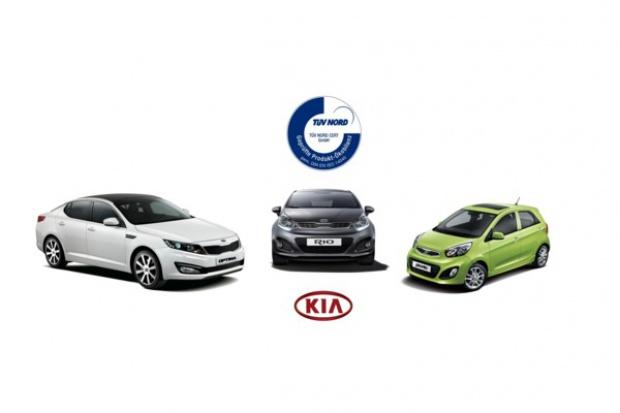 Trzy ekologiczne certyfikaty TÜV Nord dla Kia