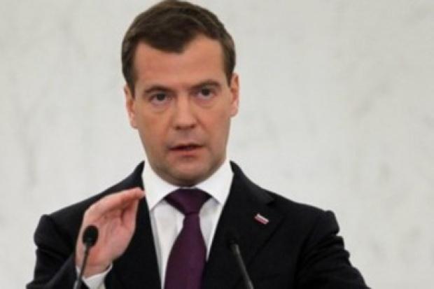 Miedwiediew: Ukraina powinna pójść drogą Białorusi w kwestii gazu