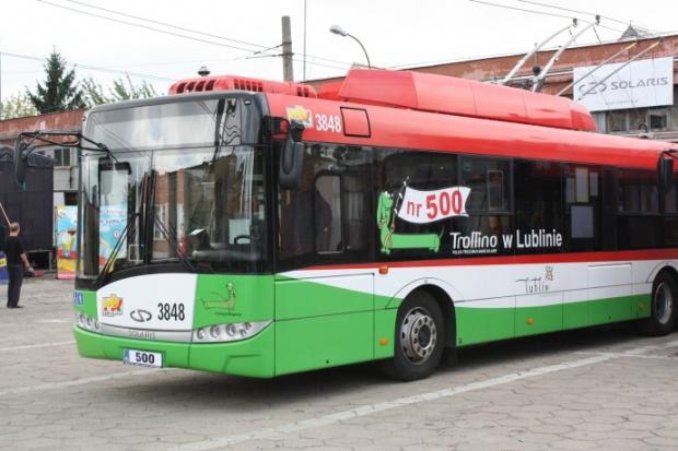 Trollino z numerem 500 trafiło do Lublina
