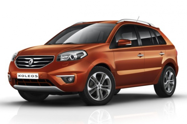 Renault odświeżyło Koleosa