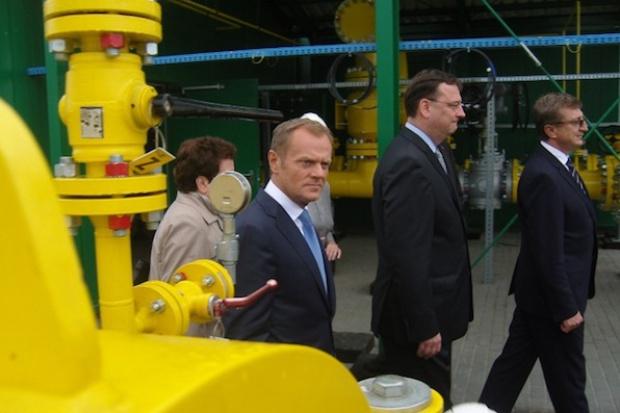Połączenie gazowe między Polską a Czechami otwarte - zobacz video