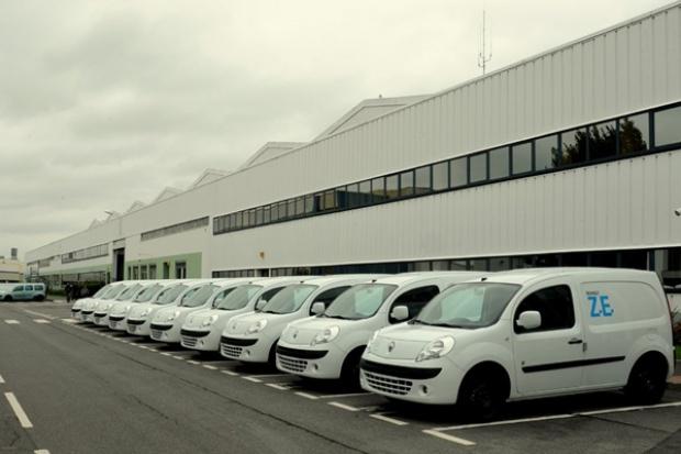 Ruszyła seryjna produkcja elektrycznego Renault Kangoo