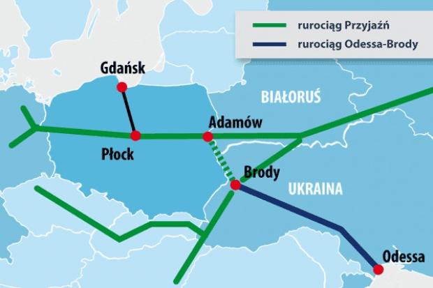 Prezydent: Odessa-Brody-Płock-Gdańsk - szereg spraw niewyjaśnionych do końca