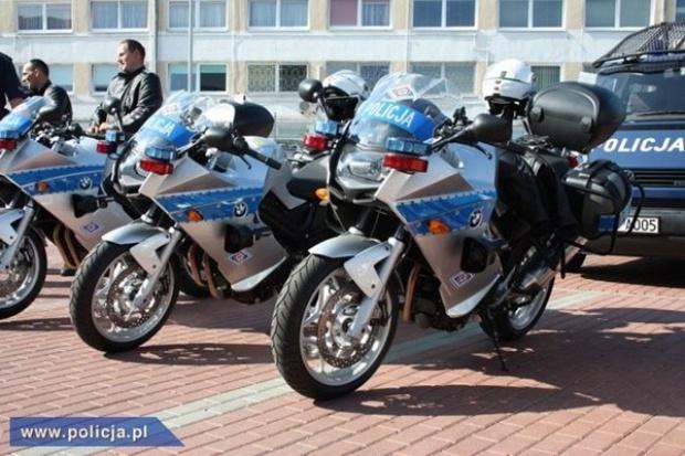 Szybkie motocykle dla kujawsko-pomorskich policjantów