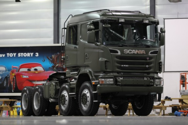 Scania chce do wojska