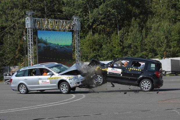Škoda ma własny ośrodek do crash-testów