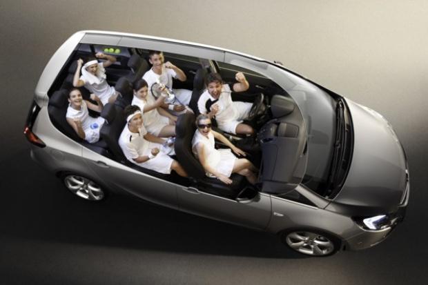 Opel Zafira Tourer - pokaz elastyczności
