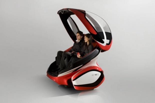 Elektryczna kapsuła przyszłości GM pod marką Chevrolet