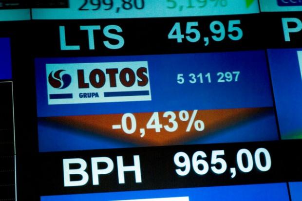 Wynik Grupy Lotos za III kw. będzie gorszy o ok. 0,5 mld zł przez złotego