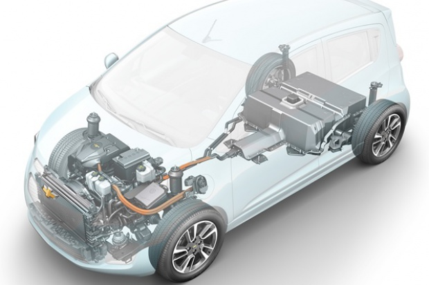Chevrolet przygotowuje napęd dla elektrycznego modelu Spark