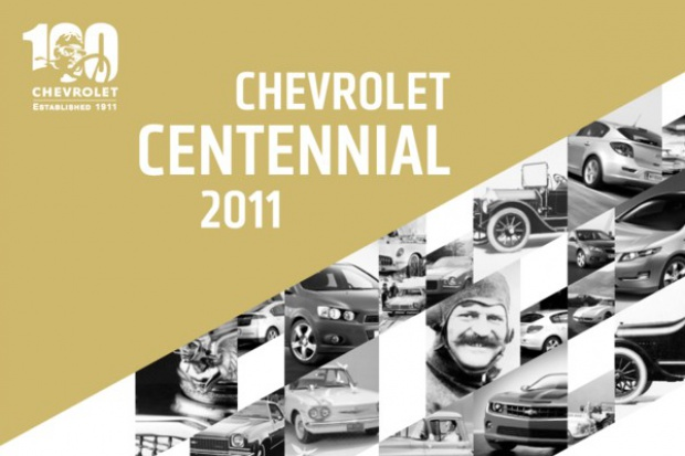 Chevrolet świętuje 100.urodziny