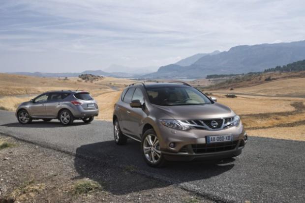 Nissan poprawia Murano