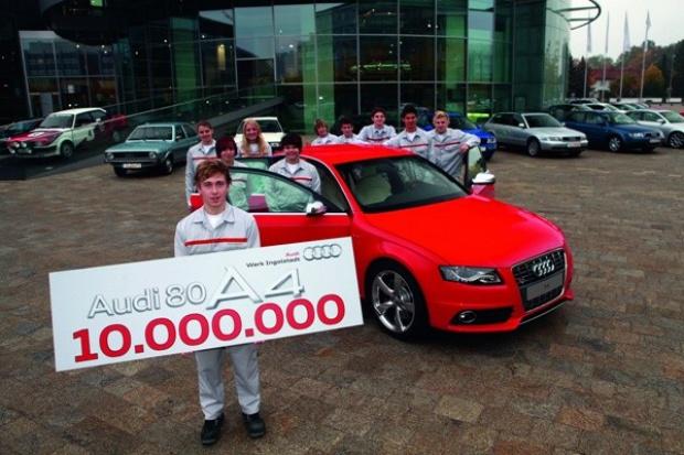 10 milionów 80/A4  od Audi