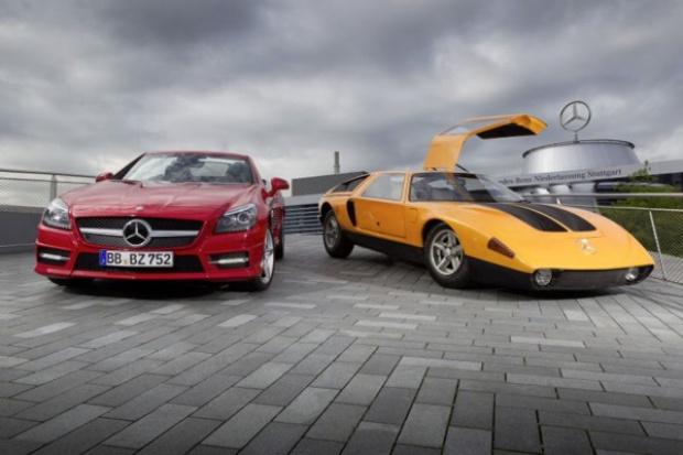 Diesel w sportowych mercedesach ma długą tradycję
