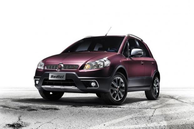 Fiat zmodyfikował Sedici