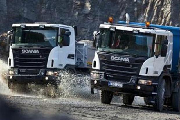 Nowe ciężarowe terenówki od Scanii