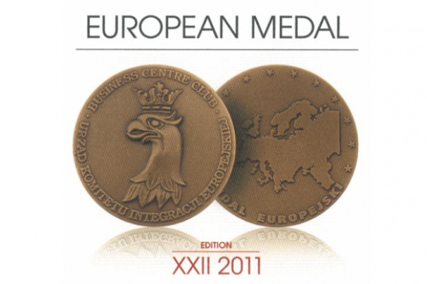 GAZ-SYSTEM S.A. uhonorowany Medalem Europejskim