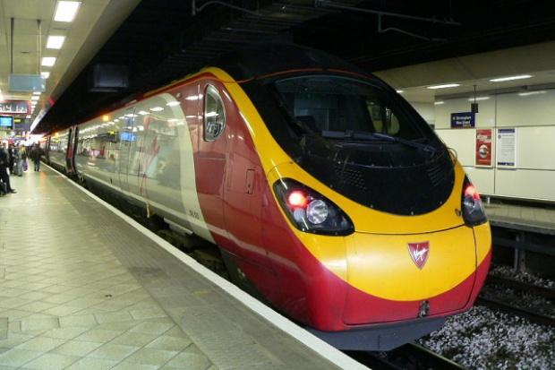 Wielki poślizg superszybkiego pociągu
