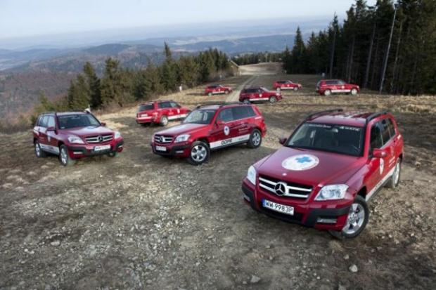 Mercedes-Benz Polska oficjalnym partnerem GOPR