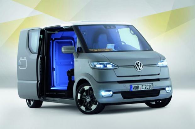Volkswagen eT! - pocztowy samochód przyszłości