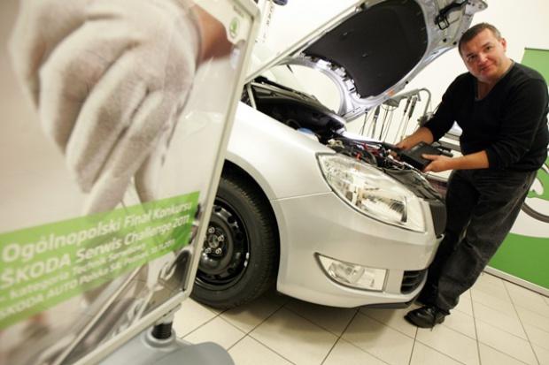 Škoda Auto Polska wybrała najlepszego technika w sieci