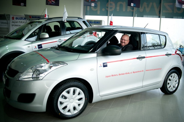 Suzuki Motor Poland i Japan Motors nadal z TS Podbeskidzie