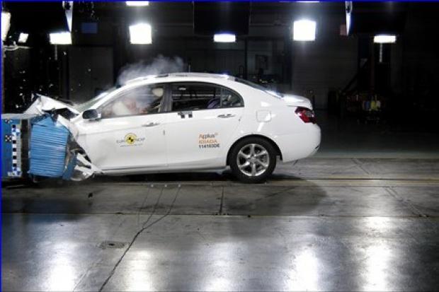 Euro NCAP rozbiła 14 nowych aut