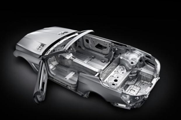 Wyjątkowa anatomia nowego Mercedesa SL