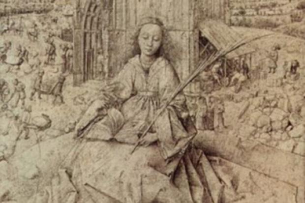 Tradycja kultu św. Barbary - patronki górników