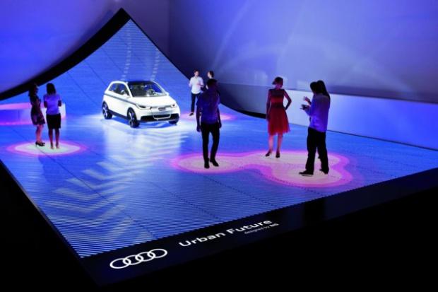 Ulica przyszłości wg Audi