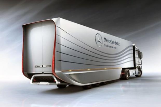 Naczepa przyszłości wg Mercedes-Benz