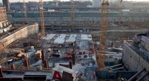 Budowa dworca w Katowicach trwa już rok