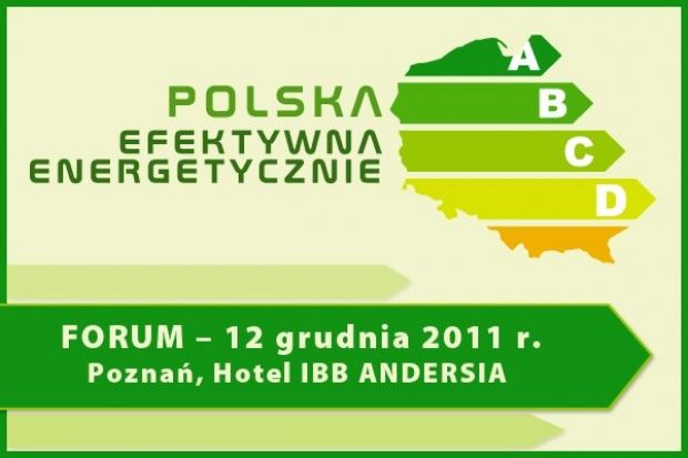 Forum Polska Efektywna Energetycznie - Poznań