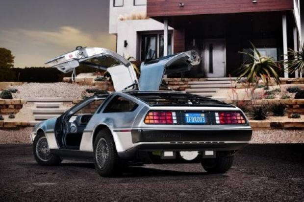 Filmowy DeLorean sprzedany